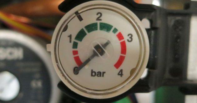 barometru centrala termica
